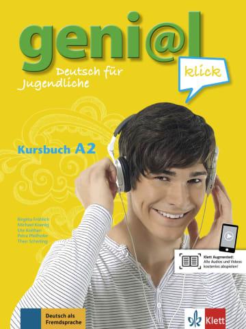 Cover geni@l klick A2 978-3-12-606296-1 Deutsch als Fremdsprache (DaF),Deutsch als Zweitsprache (DaZ)