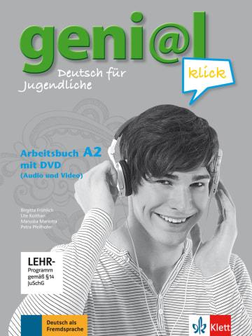 Cover geni@l klick A2 978-3-12-606298-5 Deutsch als Fremdsprache (DaF),Deutsch als Zweitsprache (DaZ)