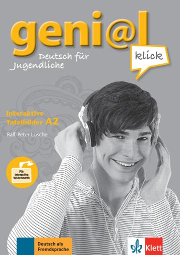 Cover Ejercicios interactivos en DVD-ROM, geni@l klick A2 978-3-12-606302-9 Deutsch als Fremdsprache (DaF),Deutsch als Zweitsprache (DaZ)