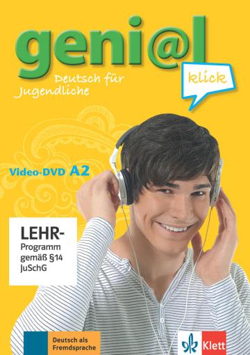 Cover geni@l klick A2 978-3-12-606307-4 Deutsch als Fremdsprache (DaF),Deutsch als Zweitsprache (DaZ)