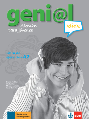 Cover geni@l klick A2 978-3-12-606310-4 Deutsch als Fremdsprache (DaF)