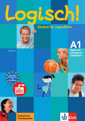 Cover Logisch! A1 978-3-12-606324-1 Deutsch als Fremdsprache (DaF),Deutsch als Zweitsprache (DaZ)