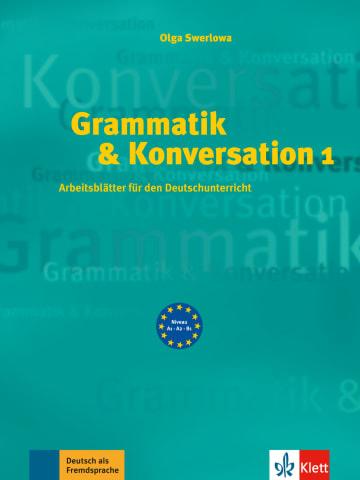 Cover Grammatik & Konversation 1 978-3-12-606362-3 Deutsch als Fremdsprache (DaF)