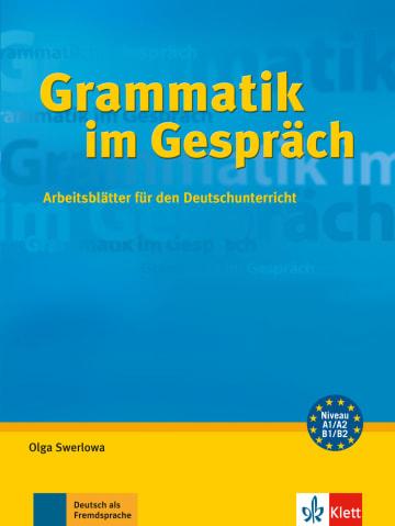Cover Grammatik im Gespräch 978-3-12-606369-2 Deutsch als Fremdsprache (DaF)