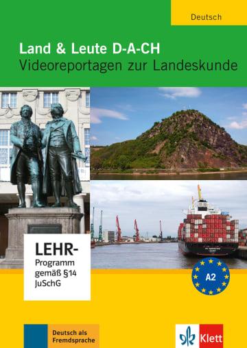 Cover Land & Leute D-A-CH 978-3-12-606379-1 Deutsch als Fremdsprache (DaF)