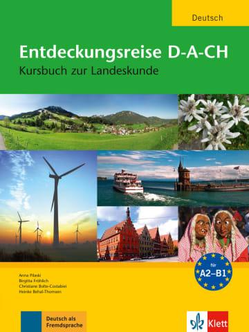Cover Entdeckungsreise D-A-CH 978-3-12-606380-7 Deutsch als Fremdsprache (DaF)