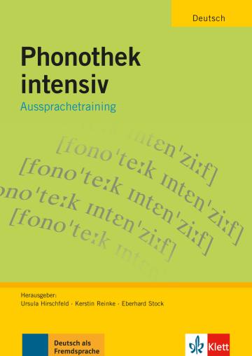 Cover Phonothek intensiv 978-3-12-606385-2 Deutsch als Fremdsprache (DaF)