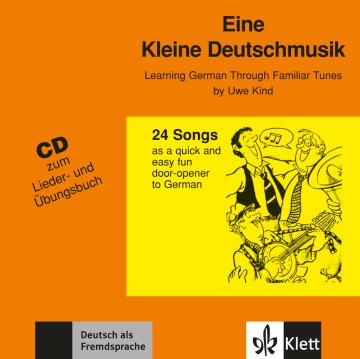 Cover Eine kleine Deutschmusik 978-3-12-606392-0 Deutsch als Fremdsprache (DaF)