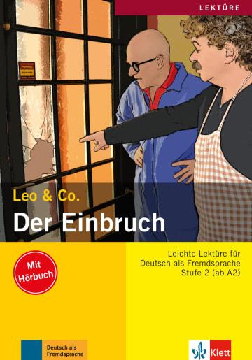 Cover Der Einbruch 978-3-12-606396-8 Deutsch als Fremdsprache (DaF)