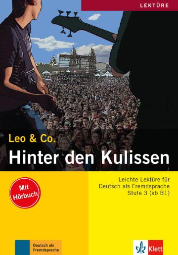 Cover Hinter den Kulissen 978-3-12-606397-5 Deutsch als Fremdsprache (DaF)