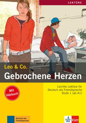 Cover Gebrochene Herzen 978-3-12-606403-3 Deutsch als Fremdsprache (DaF)