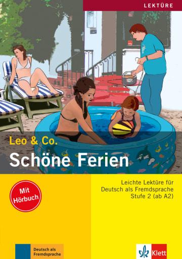 Cover Schöne Ferien 978-3-12-606407-1 Elke Burger, Theo Scherling Deutsch als Fremdsprache (DaF)