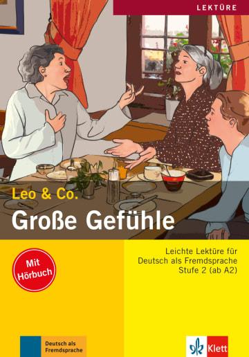 Cover Große Gefühle 978-3-12-606409-5 Deutsch als Fremdsprache (DaF)