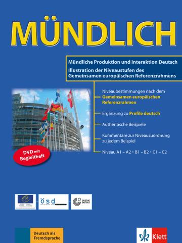 Cover MÜNDLICH 978-3-12-606517-7 Deutsch als Fremdsprache (DaF)