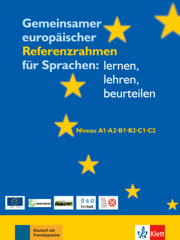 Cover Gemeinsamer europäischer Referenzrahmen für Sprachen: lernen, lehren, beurteilen 978-3-12-606520-7 Deutsch als Fremdsprache (DaF)