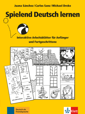 Cover Spielend Deutsch lernen 978-3-12-606528-3 Deutsch als Fremdsprache (DaF)