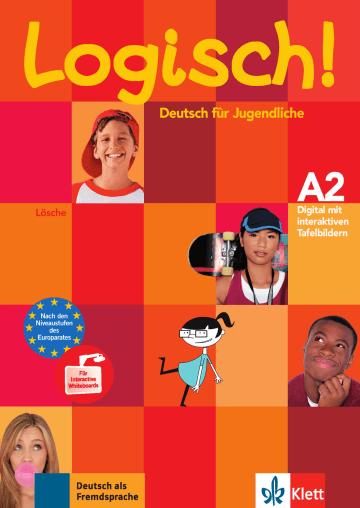 Cover Logisch! A2 978-3-12-606984-7 Deutsch als Fremdsprache (DaF),Deutsch als Zweitsprache (DaZ)