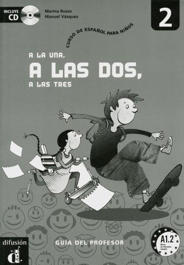 Cover A la una, a las dos, a las tres 2 978-3-12-514224-4 Spanisch