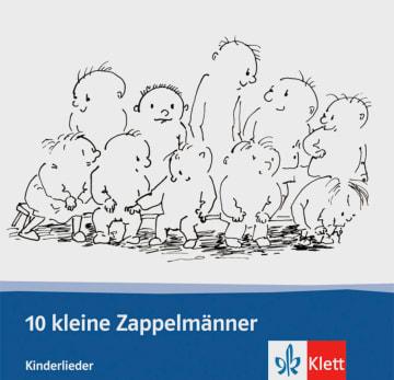 Cover 10 kleine Zappelmänner 978-3-12-675089-9 Deutsch als Fremdsprache (DaF)