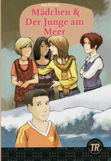 Cover Mädchen & Der Junge am Meer 978-3-12-675696-9 Deutsch als Fremdsprache (DaF)