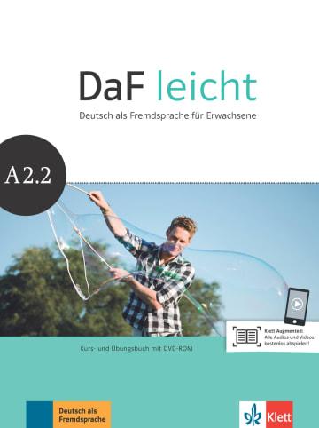 Cover DaF leicht A2.2 978-3-12-676256-4 Deutsch als Fremdsprache (DaF)