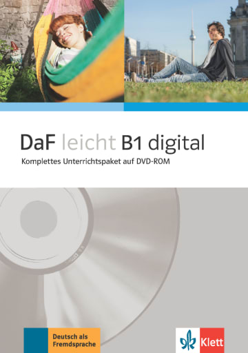 Cover DaF leicht B1 digital 978-3-12-676264-9 Deutsch als Fremdsprache (DaF)