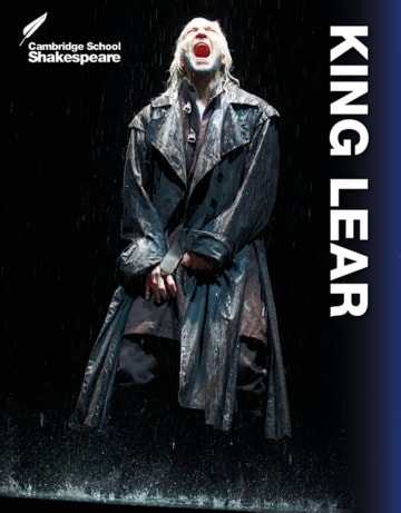 Cover King Lear 978-3-12-576482-8 William Shakespeare Englisch