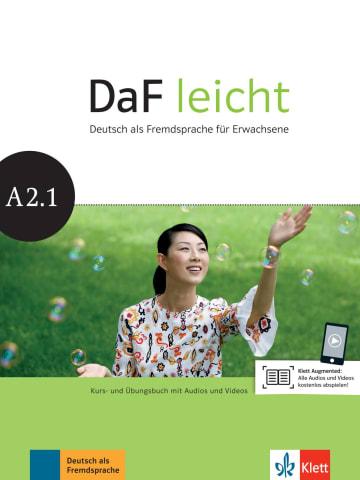 Cover DaF leicht A2.1 978-3-12-676255-7 Deutsch als Fremdsprache (DaF)