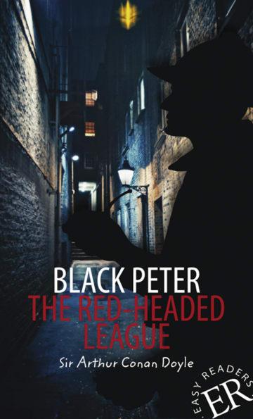 Cover Black Peter / The Red-Headed League 978-3-12-535252-0 Arthur Conan Doyle Englisch