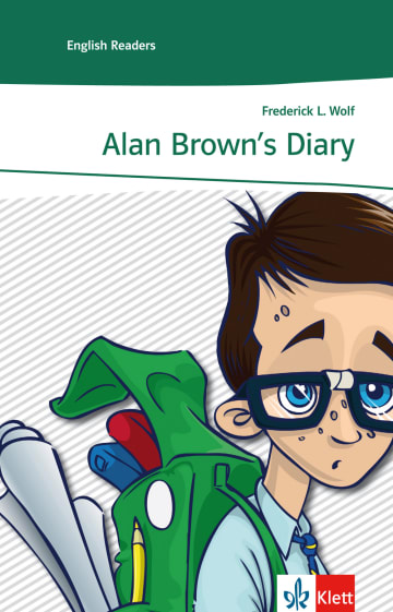 Cover Alan Brown's Diary 978-3-12-909001-5 Frederick L. Wolf Englisch