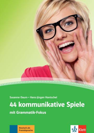 Cover 44 kommunikative Spiele 978-3-12-675194-0 Deutsch als Fremdsprache (DaF)