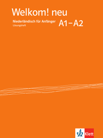 Cover Welkom! Neu A1-A2 978-3-12-528992-5 Niederländisch