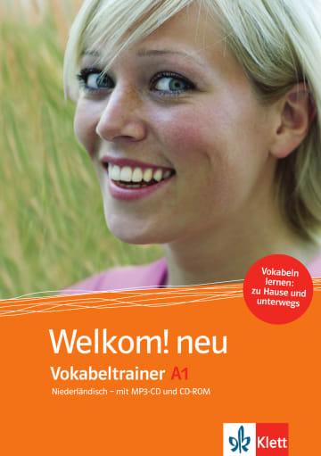 Cover Welkom! Neu A1 Vokabeltrainer 978-3-12-528995-6 Niederländisch