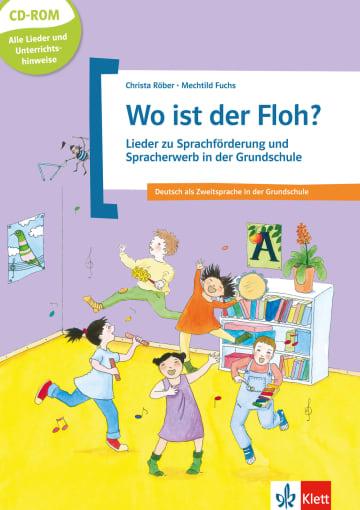 Cover Wo ist der Floh? 978-3-12-666848-4 Deutsch als Fremdsprache (DaF),Deutsch als Zweitsprache (DaZ)