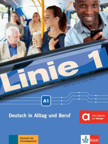Cover Linie 1 A1 978-3-12-607055-3 Deutsch als Fremdsprache (DaF)