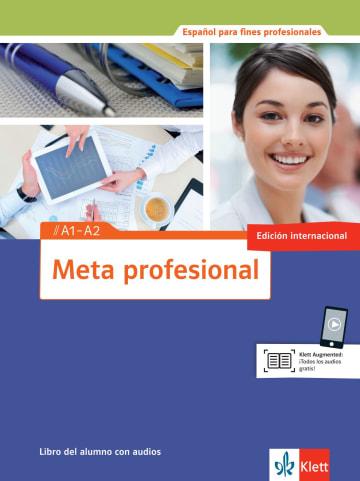 Cover Meta profesional A1-A2 (edición internacional) 978-3-12-515480-3 Spanisch