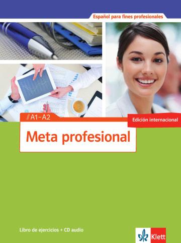 Cover Meta profesional A1-A2 (edición internacional) 978-3-12-515481-0 Spanisch