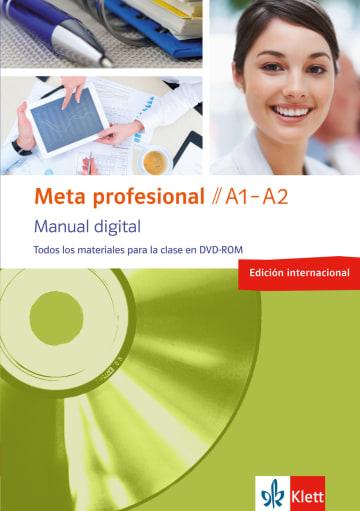 Cover Meta profesional A1-A2 digital (edición internacional) 978-3-12-515482-7 Spanisch