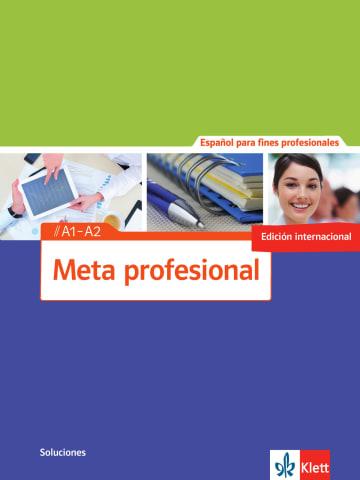 Cover Meta profesional A1-A2 (edición internacional) 978-3-12-515483-4 Spanisch