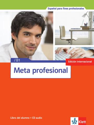 Cover Meta profesional B1 (edición internacional) 978-3-12-515485-8 Spanisch