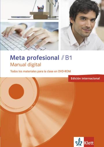 Cover Meta profesional B1 digital (edición internacional) 978-3-12-515488-9 Spanisch