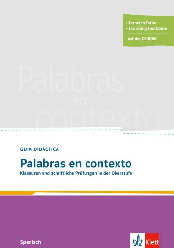 Cover Palabras en contexto 978-3-12-513353-2 Spanisch