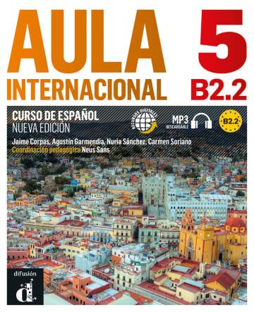 Cover Aula internacional nueva edición 5 (B2.2) 978-3-12-515754-5 Spanisch