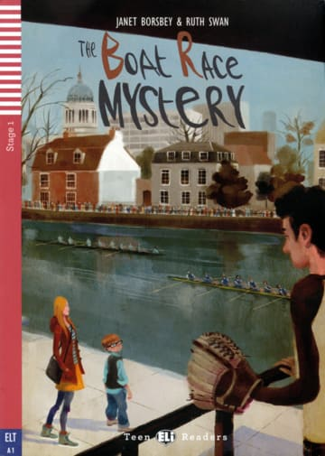 Cover The Boat Race Mystery 978-3-12-514742-3 Janet Borsbey, Ruth Swan Englisch