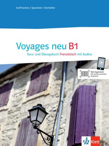 Cover Voyages neu B1 978-3-12-529431-8 Französisch