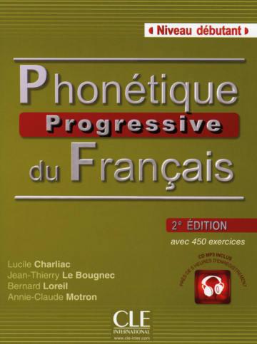 Cover Phonétique progressive du français, Niveau débutant 978-3-12-529944-3 Französisch