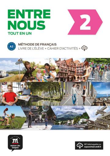 Cover Entre nous 2 (A2) 978-3-12-530273-0 Französisch