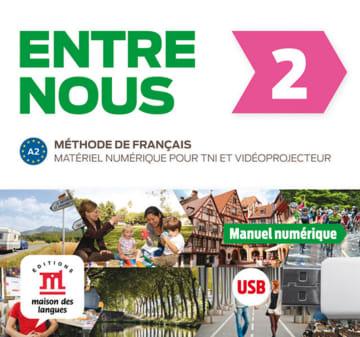 Cover Entre nous 2 (A2) 978-3-12-530274-7 Französisch