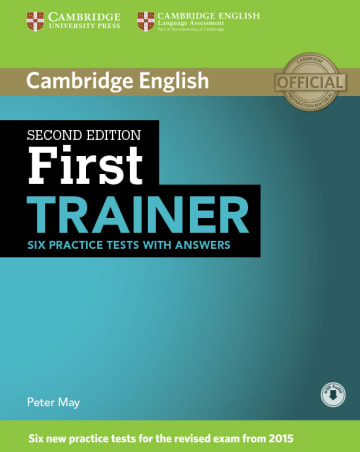 Cover First Trainer 978-3-12-532928-7 Englisch