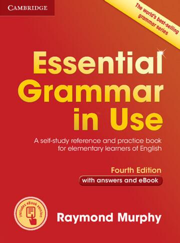 Cover Essential Grammar in Use 978-3-12-532935-5 Englisch